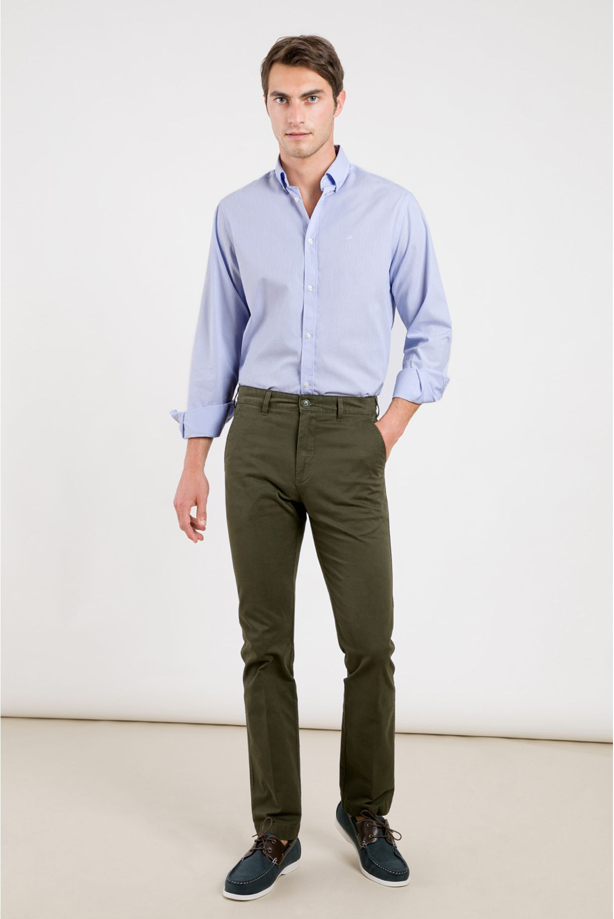 BASIC CHINO PANTS IN TWILL
