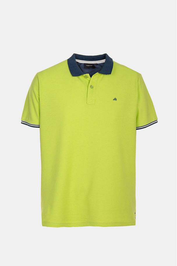 PIQUET POLO WITH EMBROIDERY
