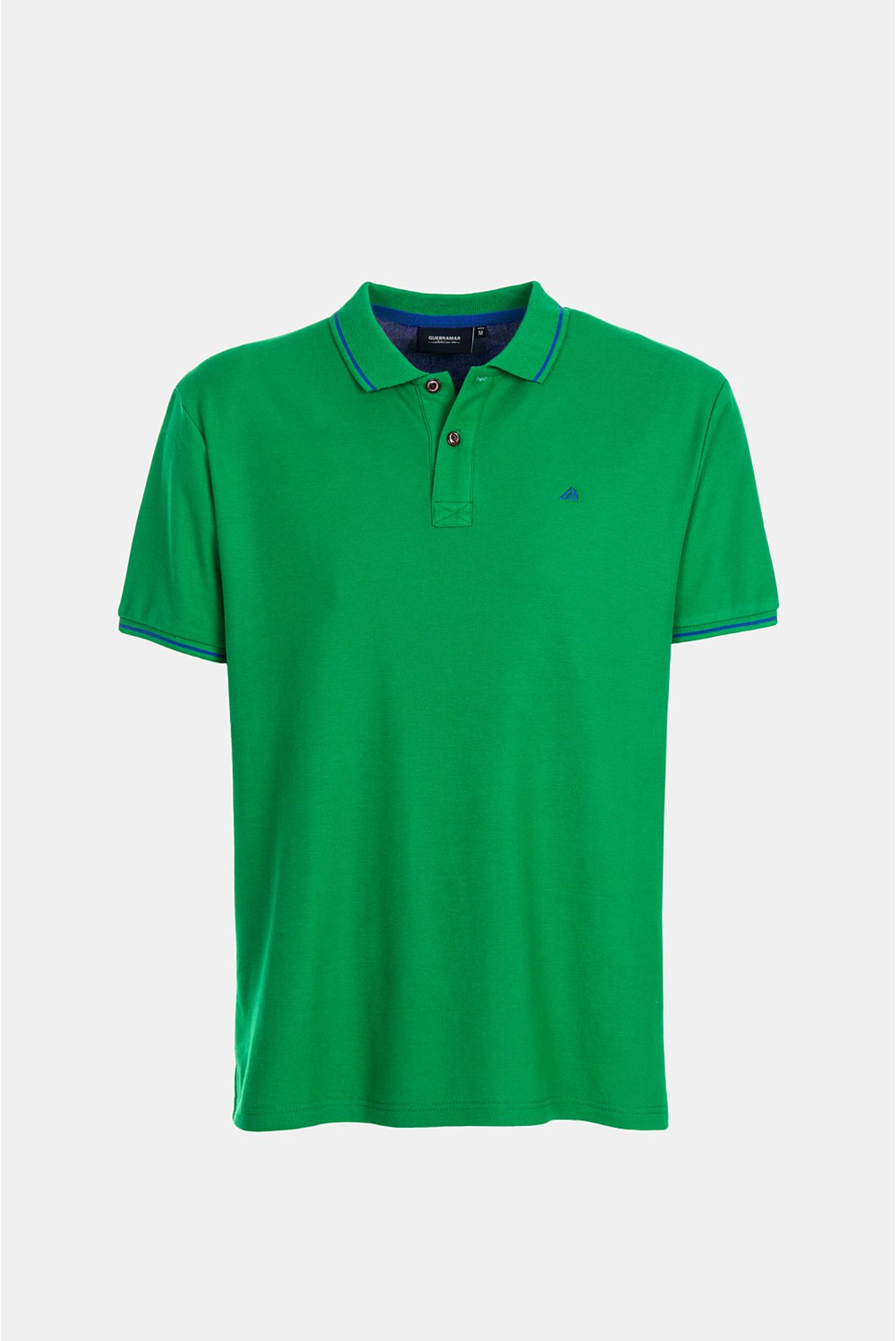 POLO PIQUET BASIC WITH LOGO EMBROIDERY