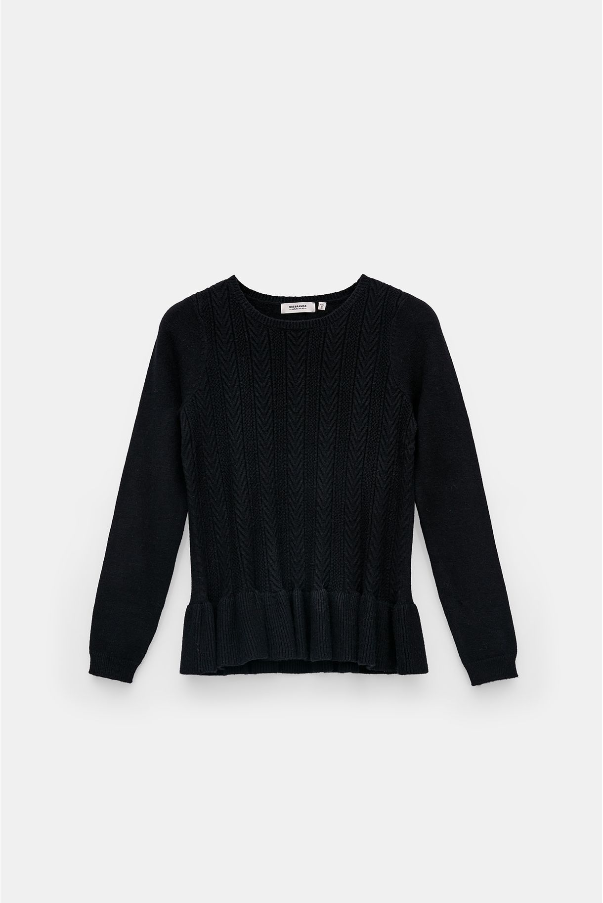SWEATSHIRT WITH RIFF IN THE STRAP