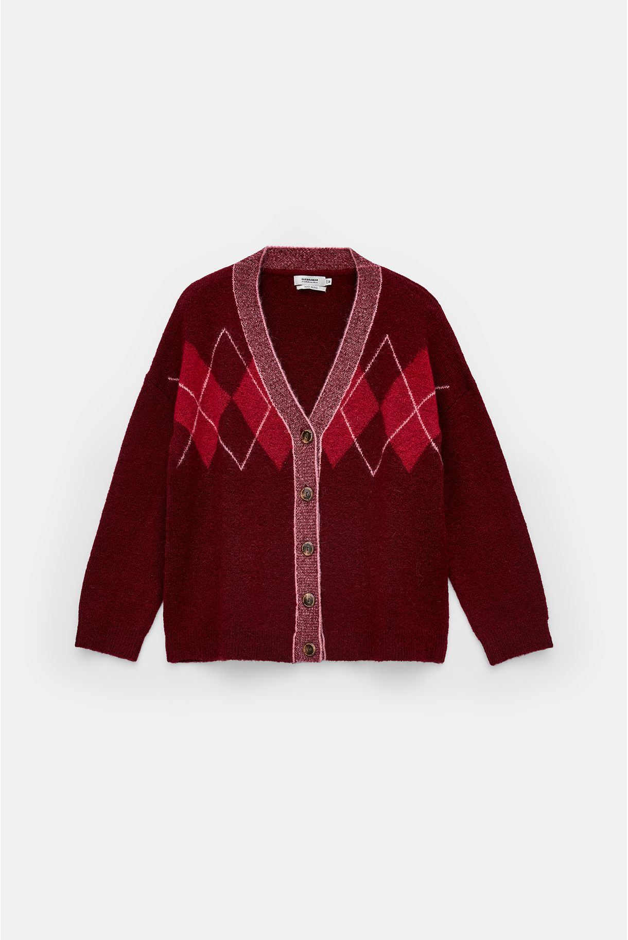 KNITTED JACKET WITH ROCKETS